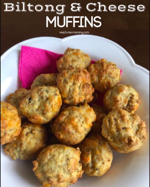 Biltong & Cheese Muffins