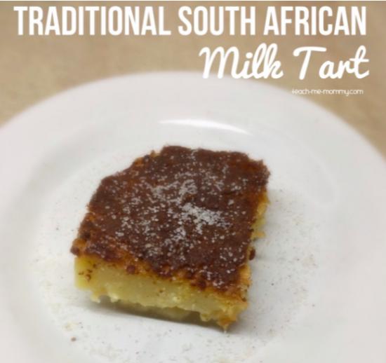 Baked Milk Tart