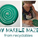 DIY Marble Maze from Recyclables
