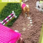 Horsie Small World Play