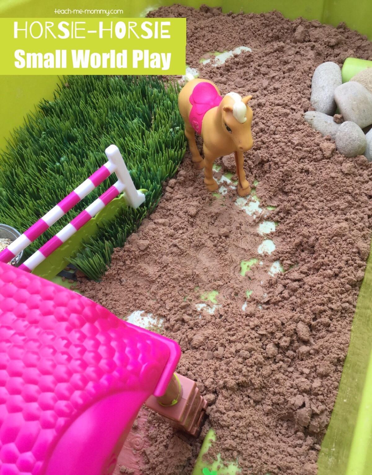 horsie horsie small world