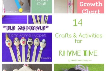 14 Crafts and Activities for Rhyme Time