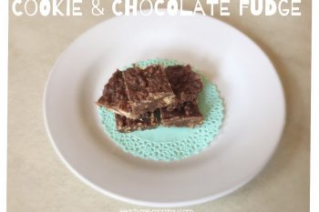 Cookie & Chocolate Fudge