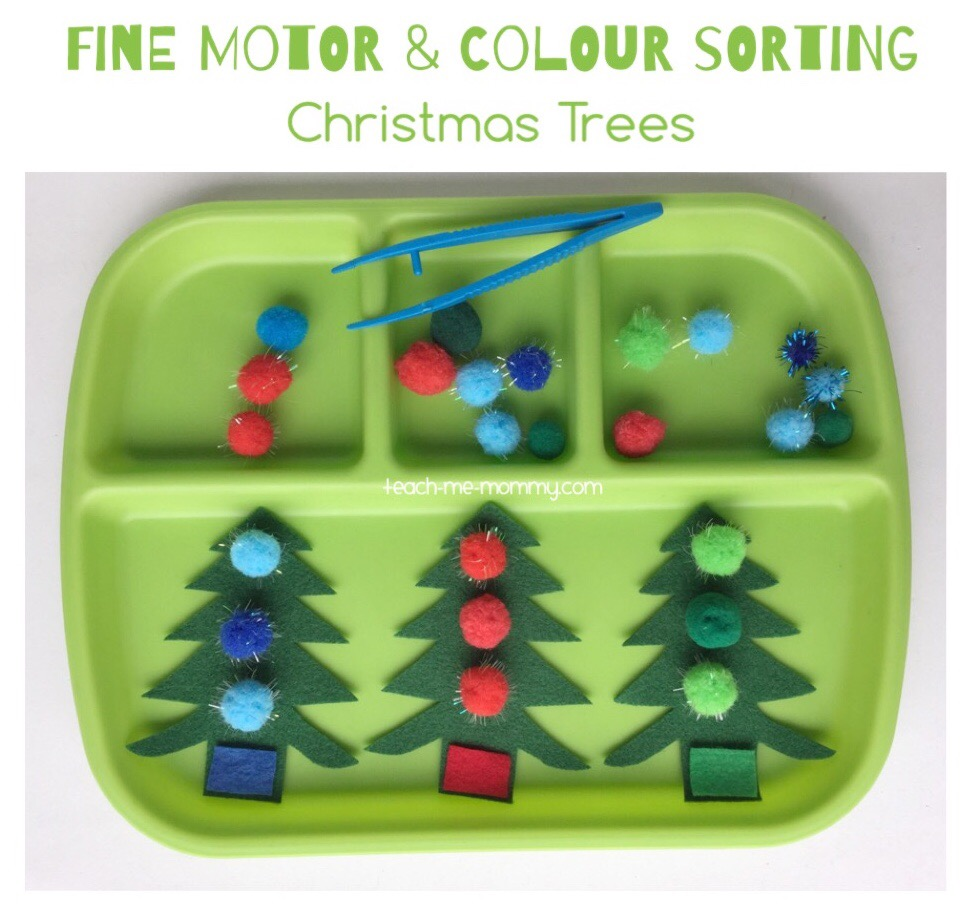 fine motor and sorting
