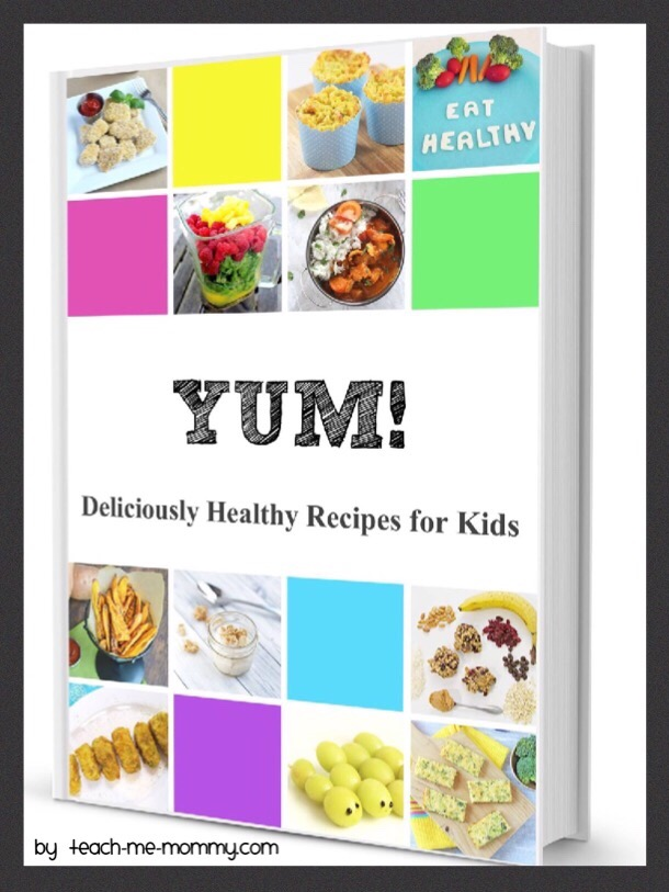 Yum healthy eating recipe book teach me mommy recipe book together with 17 bloggers in the kid niche but more importantly 17 moms that know what mission it is to feed their kids healthy food forumfinder Gallery