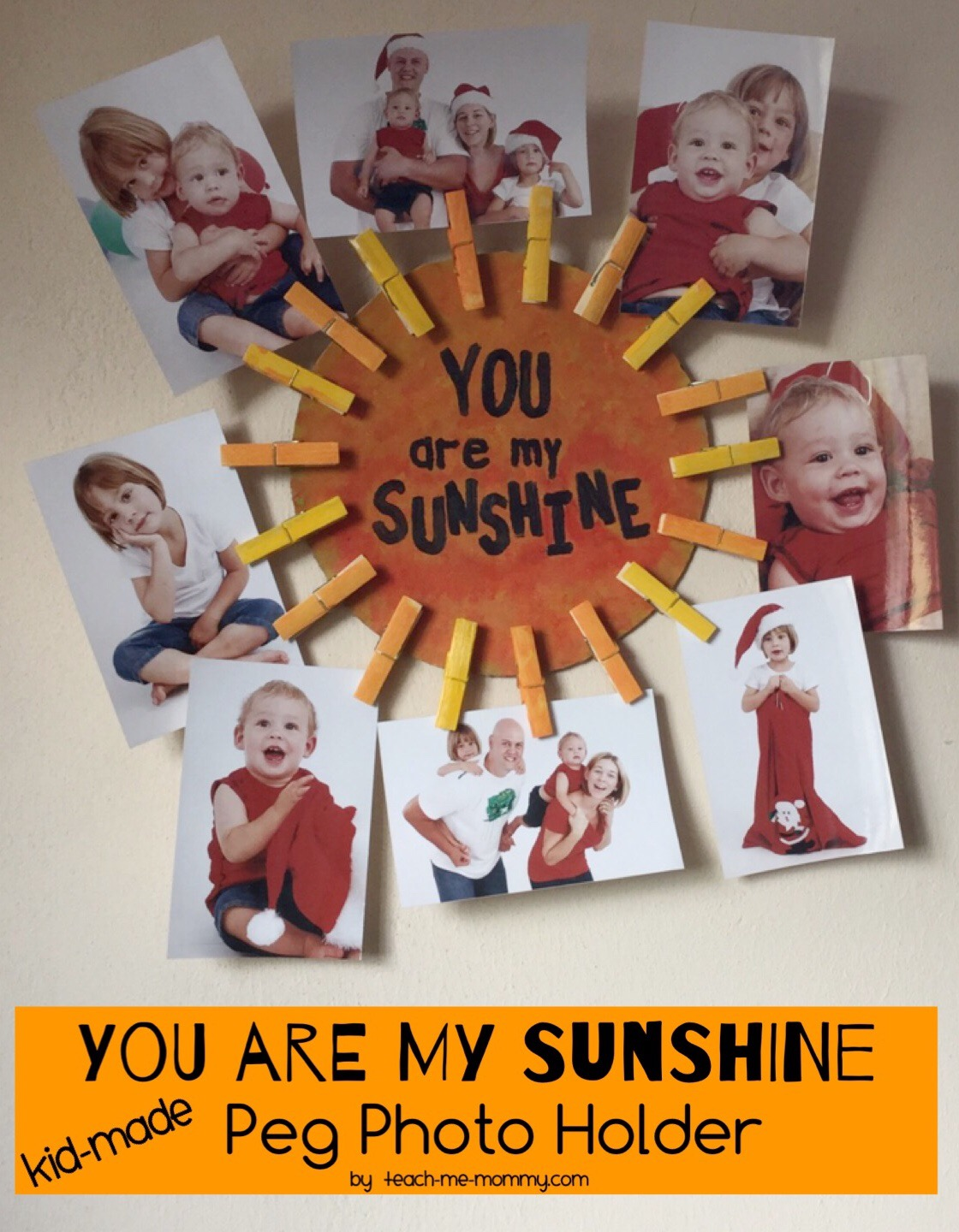 You Are My Sunshine Photo Gift