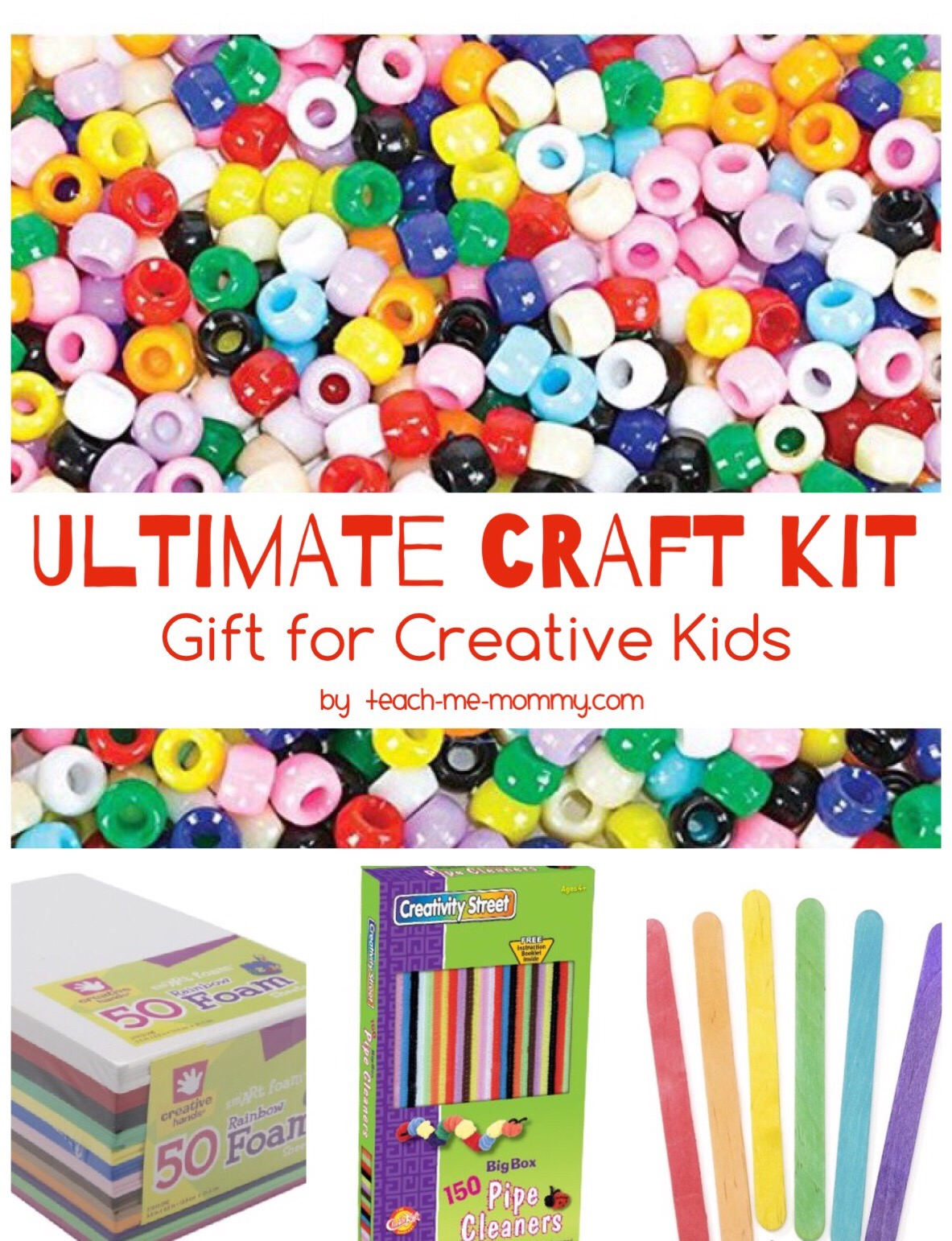 the ultimate craft kit for creative kids teach me mommy. Black Bedroom Furniture Sets. Home Design Ideas
