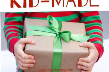 24 Fabulous Kid-made Gift Ideas