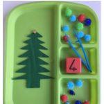 Fine Motor & Counting Christmas Tree