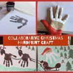 Collaborative Christmas Handprint Craft