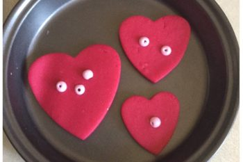 Valentine's Day Playdough Cookies