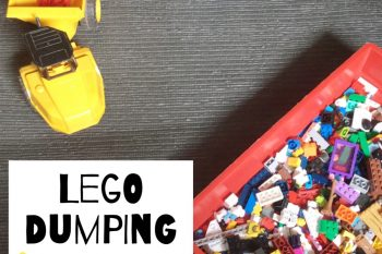 Lego Dumping Colour Sorting
