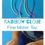 Rainbow Cloud Fine Motor Toy