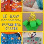 Easy Crafts for Preschoolers