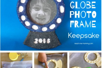 Snow Globe Photo Frame Keepsake