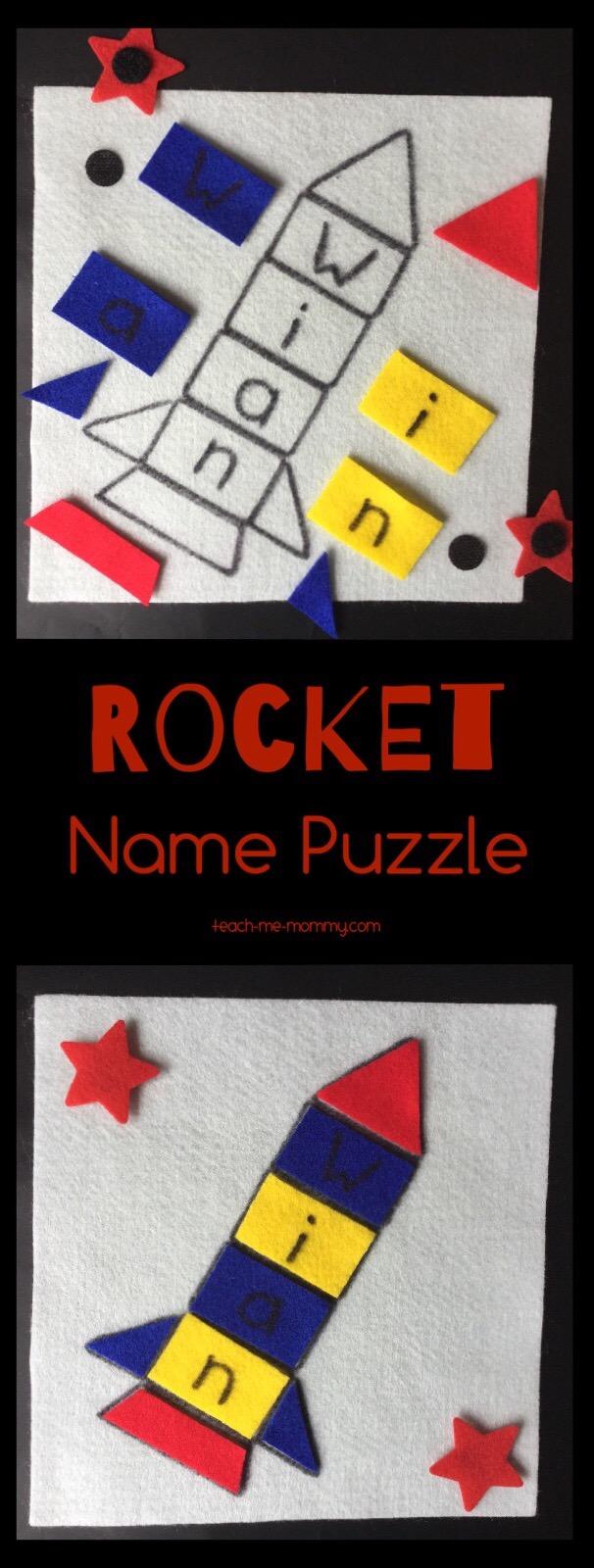 rocket name puzzle