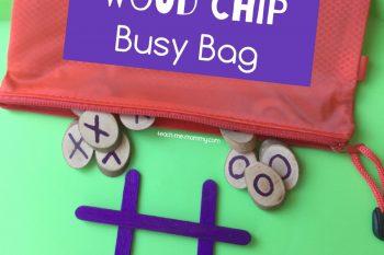 X's and O's Busy Bag