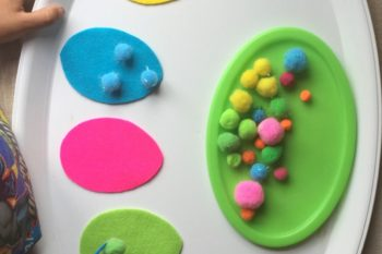 Fine Motor & Colour Sorting Eggs