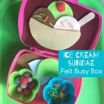 ice cream busy box