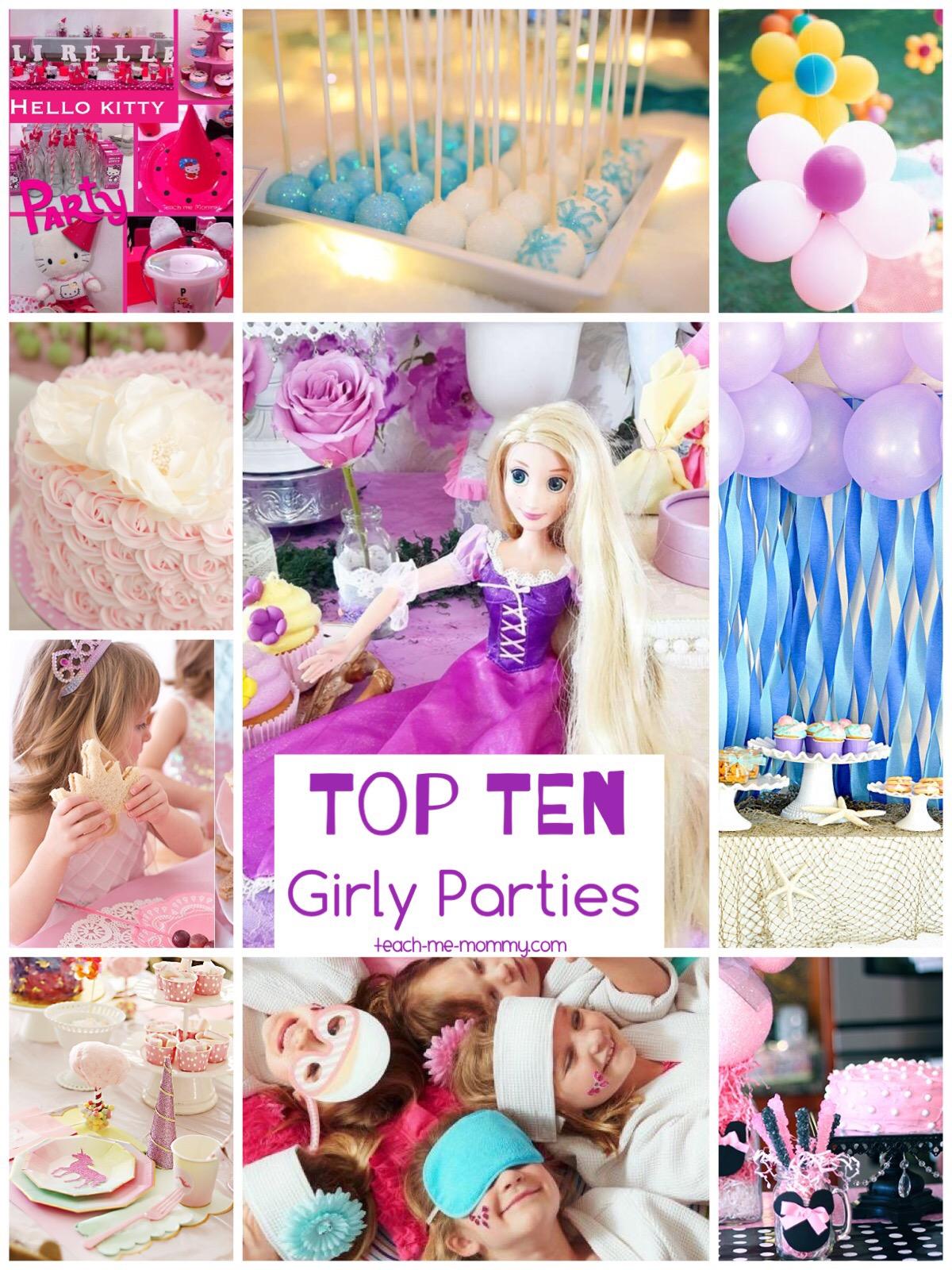 girlie parties