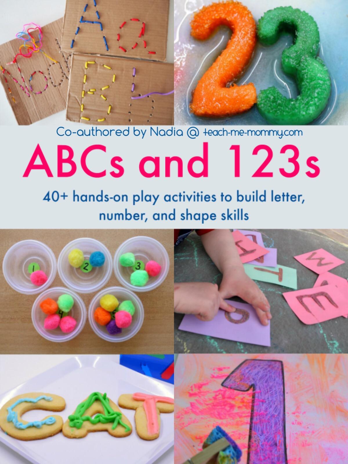 abc & 123 book