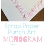 Punch Art Monogram Canvas
