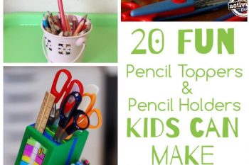 Pencil Toppers & Holders for Kids