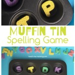 Muffin Tin Spelling Game