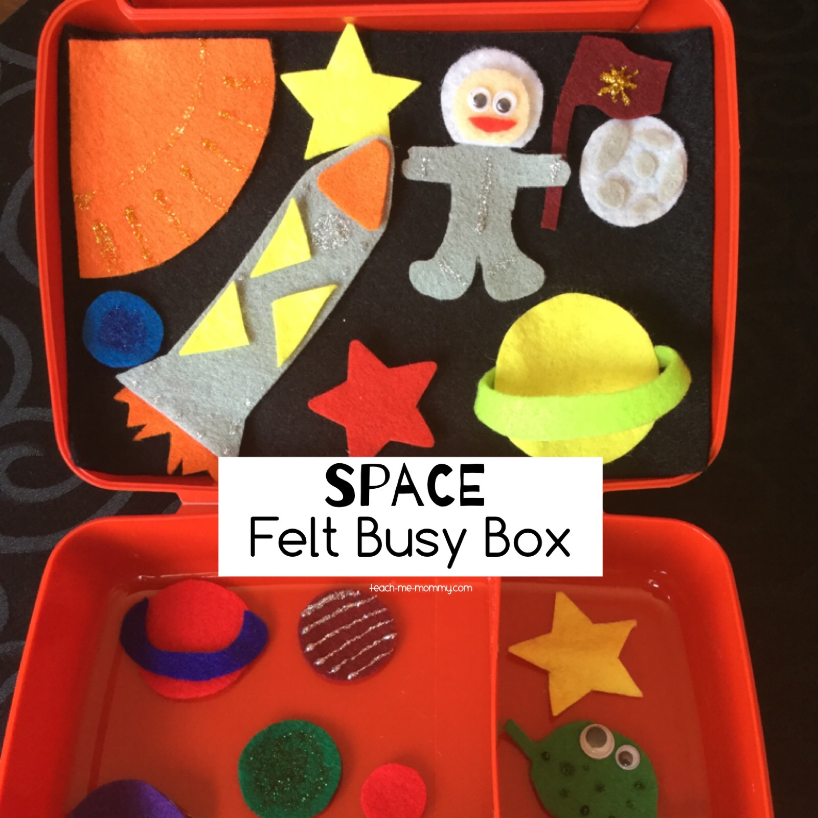 space felt busy box