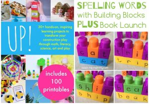 spelling words with building blocks teach me mommy. Black Bedroom Furniture Sets. Home Design Ideas