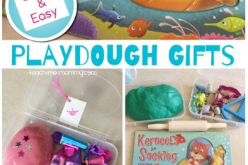 Quick & Easy Playdough Gifts