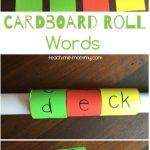 Cardboard Roll Words