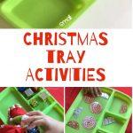 Christmas Tray Activities