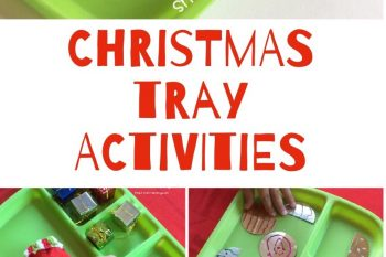 Christmas Tray Activities