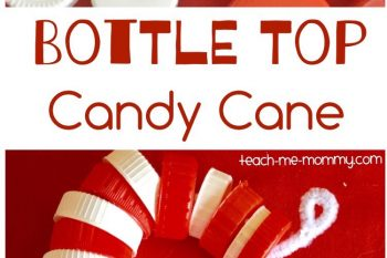 Bottle Top Candy Cane