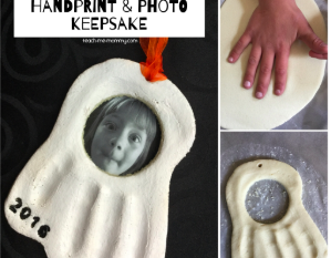Spooky Handprint & Photo Keepsake