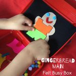 Gingerbread man box