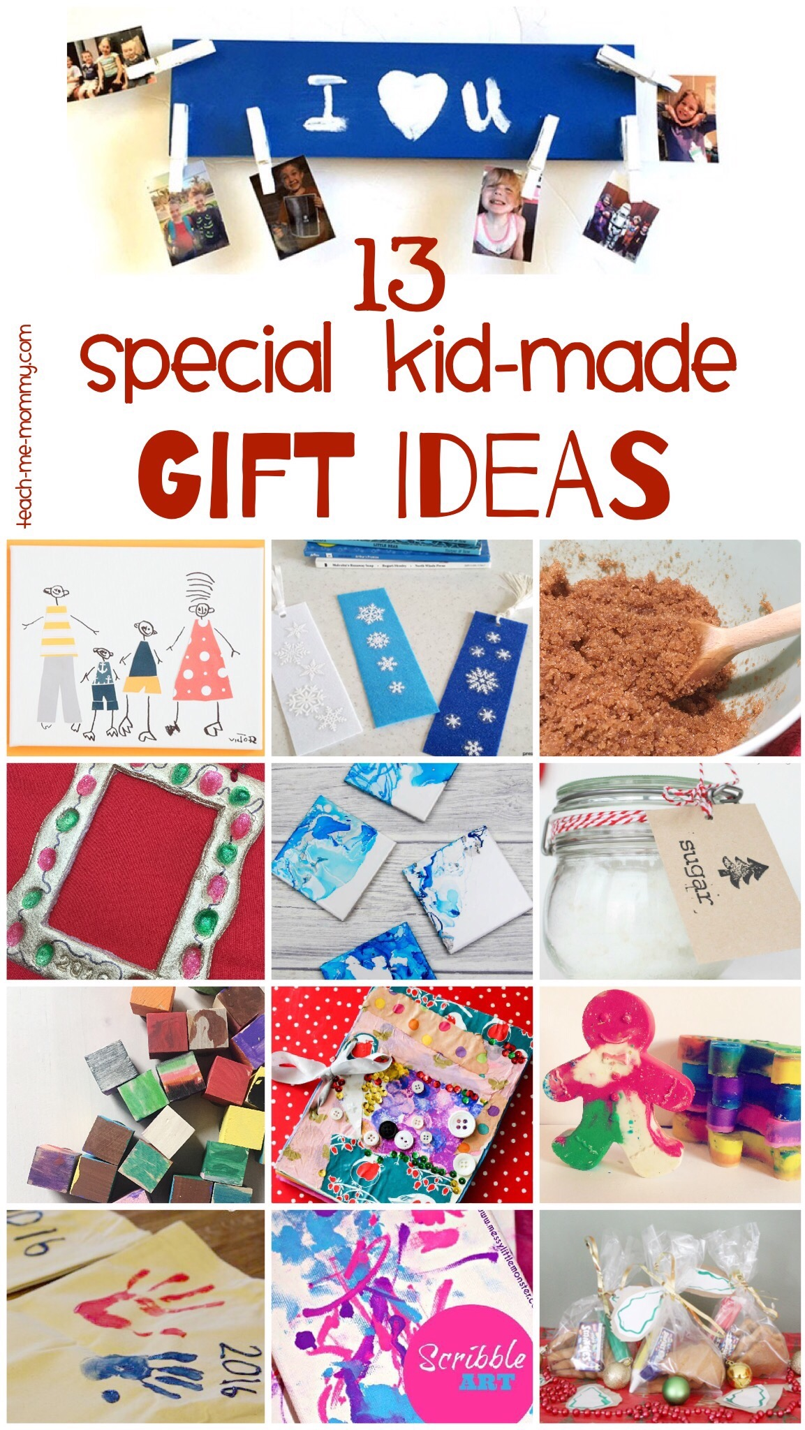 Kid Made Gifts Series Teach Me Mommy