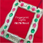 fingerprint lights frame