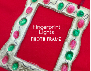 Fingerprint Lights Photo Frame