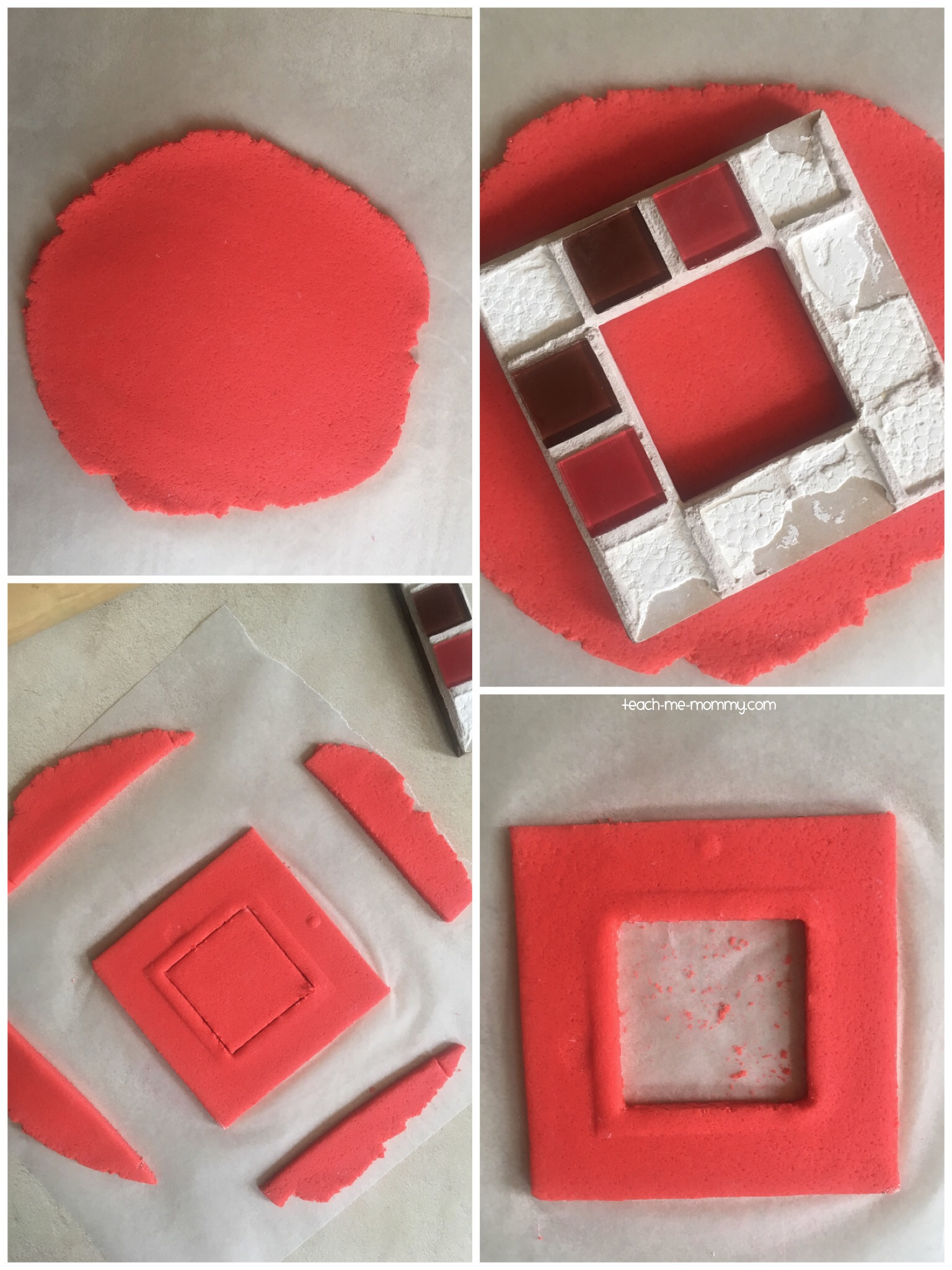 salt dough frame