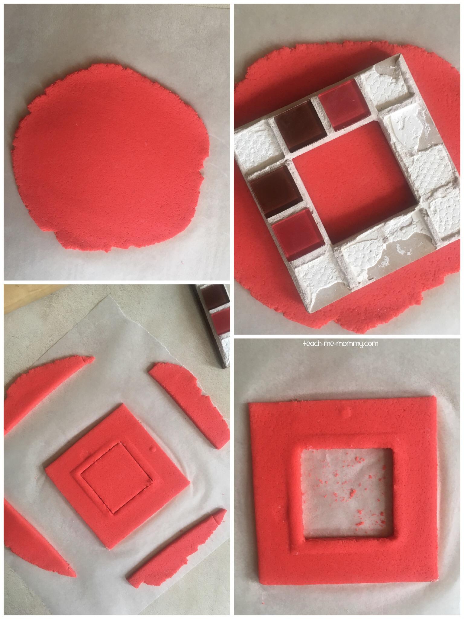 salt dough frame