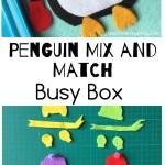 Penguin Felt Busy Box