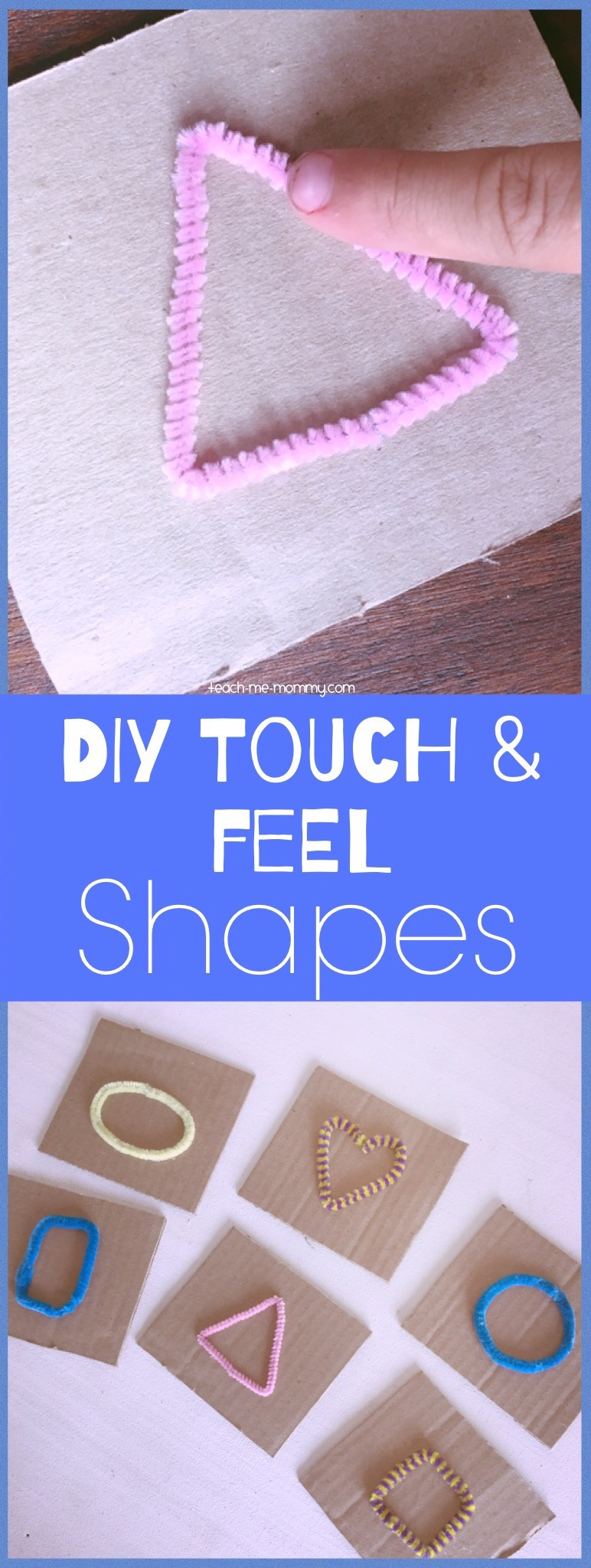 Touch and feel shapes