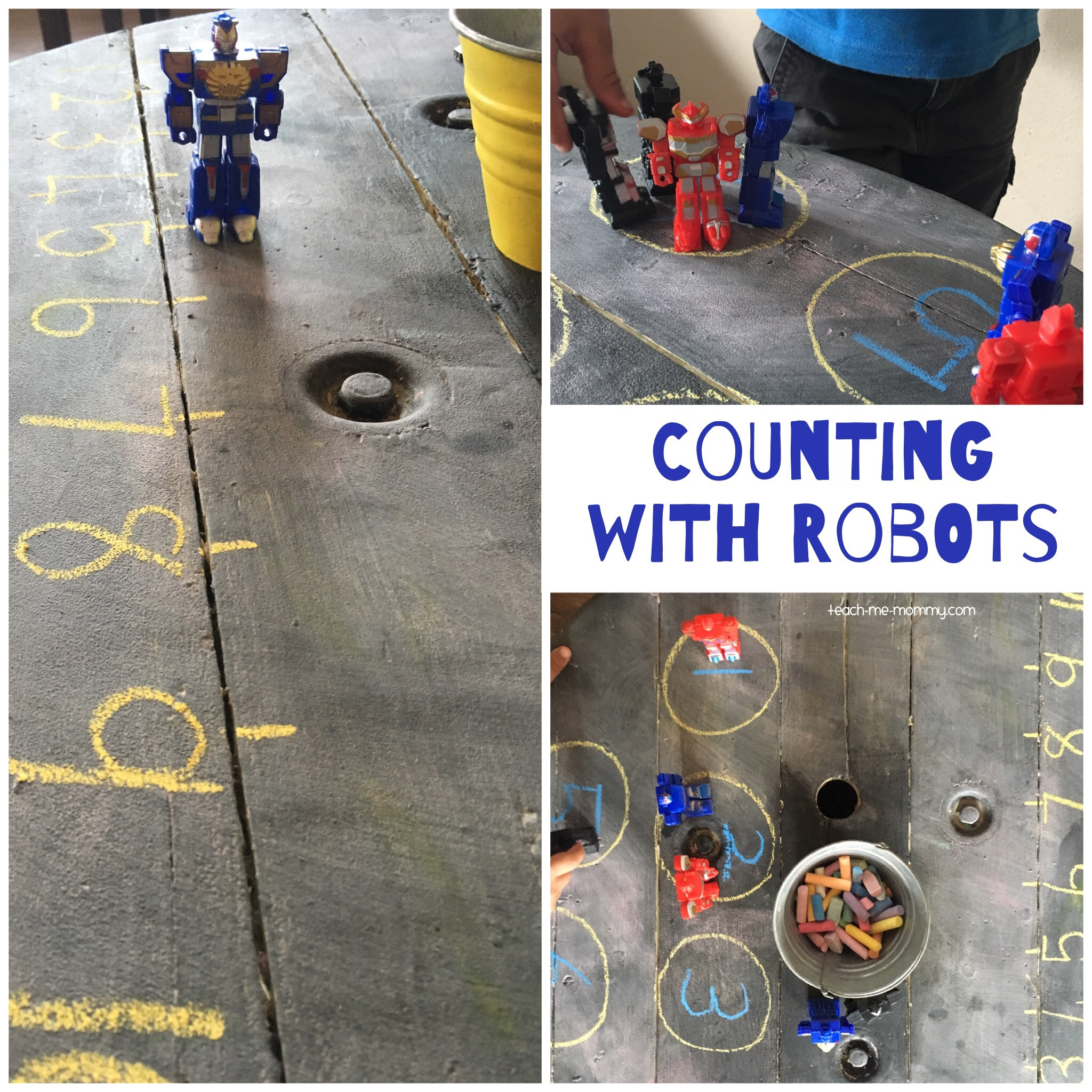 Counting with Robots