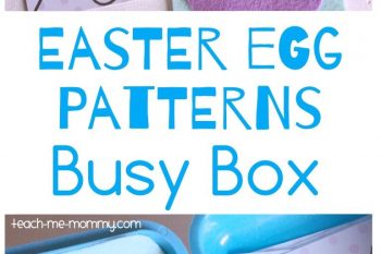 Easter Egg Patterns Busy Box