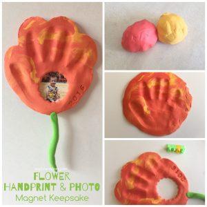 Flower handprint