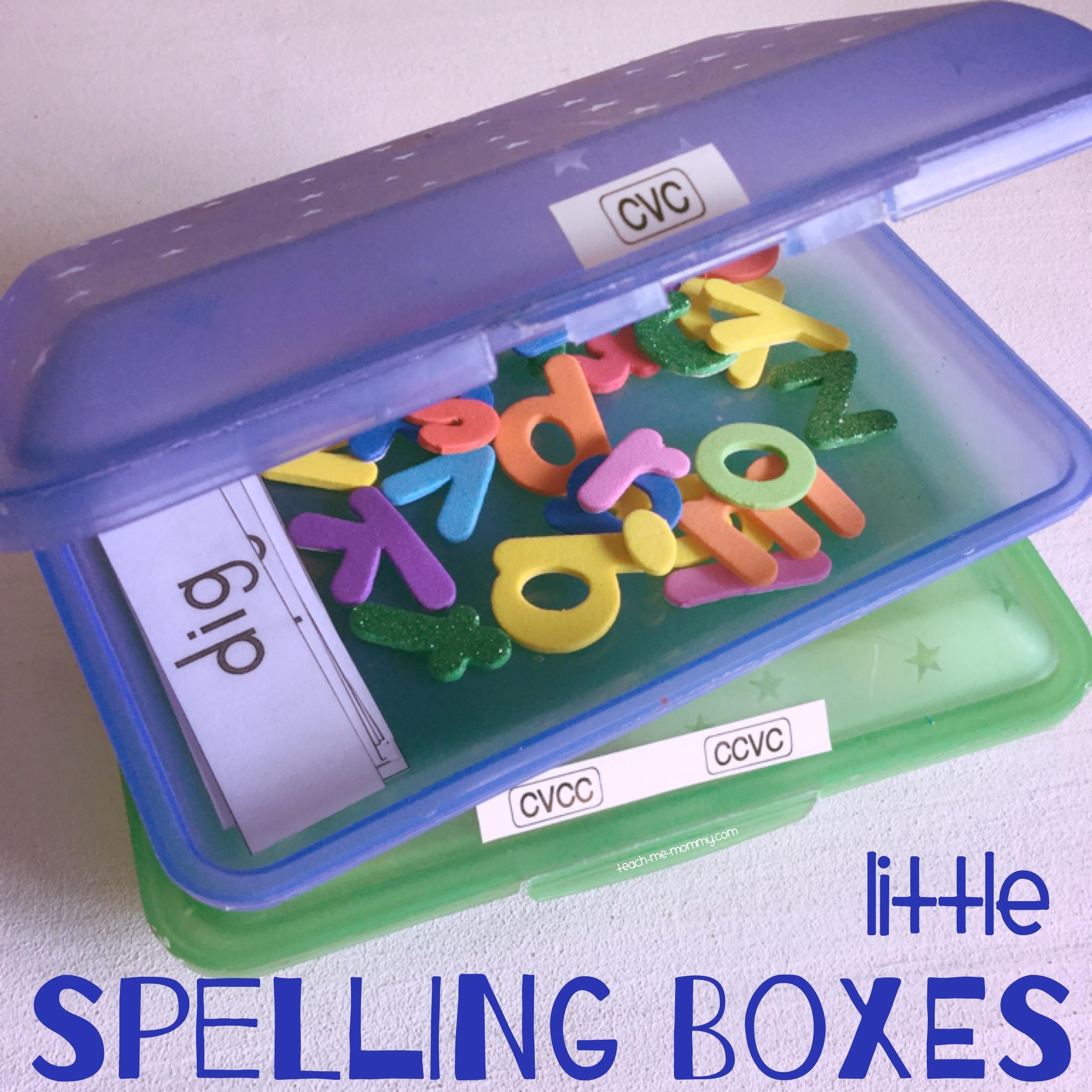 Little spelling box