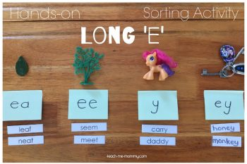 Hands-on Long E Sorting Activity