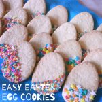 Easy Easter Egg Cookies